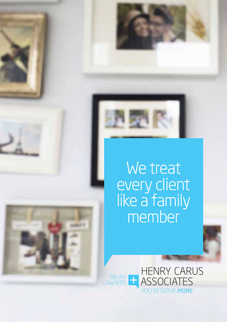 Personal Injury Testimonials for Henry Carus