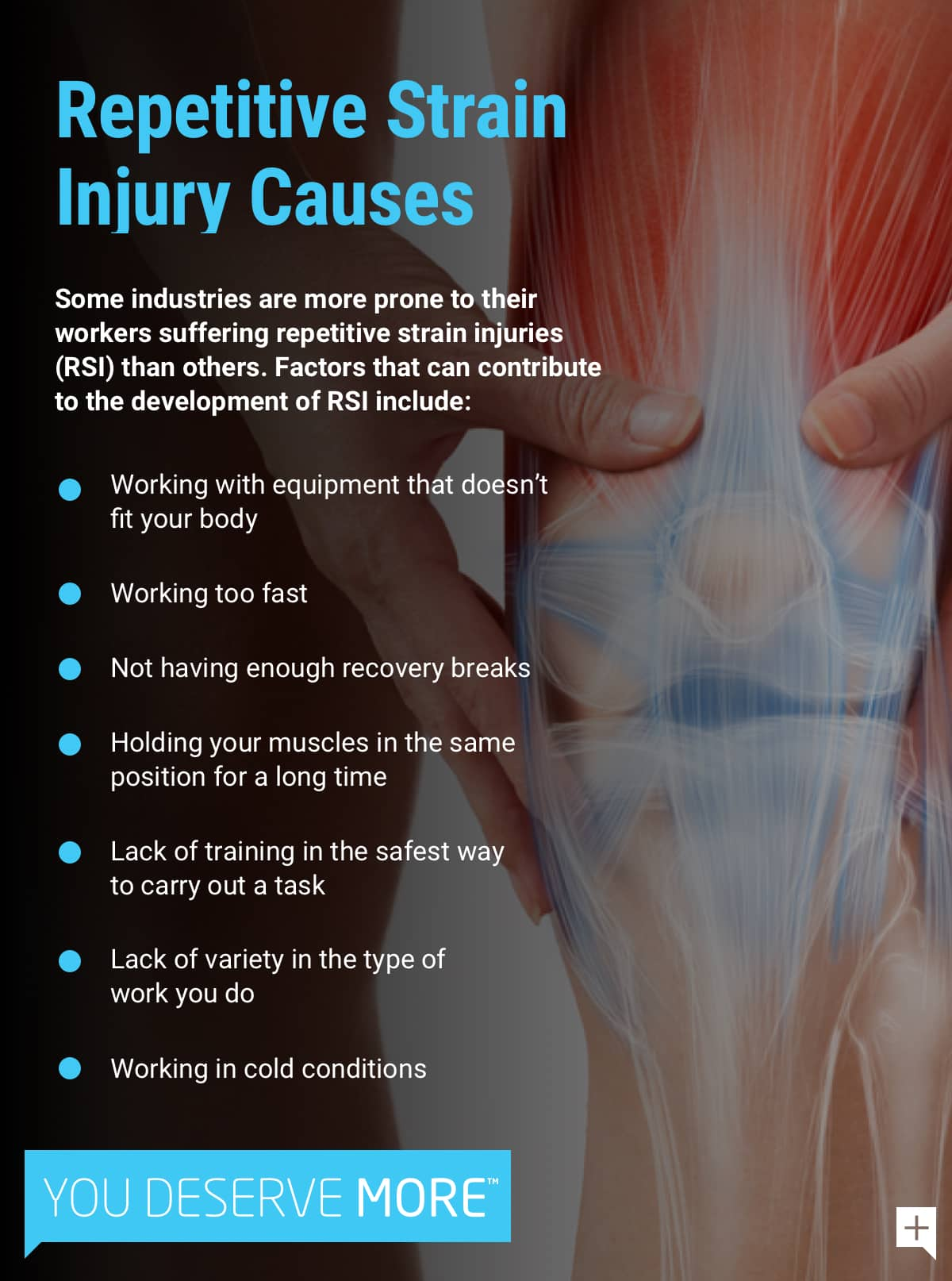 Repetitive Strain Injury Causes
